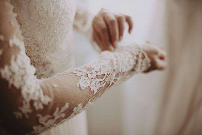 dentelle robe marié